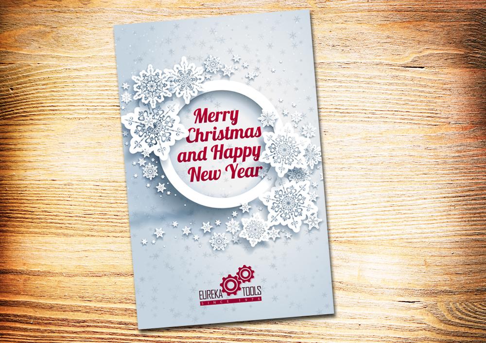 elegant playful greeting card design for eureka tools pte ltd in singapore design 2584681