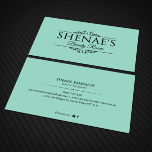 51 elegant business card designs beauty salon business card design business card design by sandaruwan for shenaes beauty room design 15355303 reheart Images