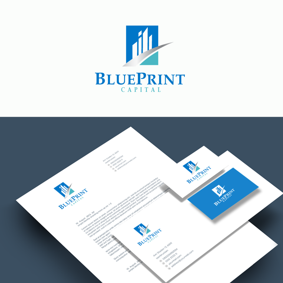 Business logo design for blueprint capital by designgreen design business logo design for blueprint capital in singapore design 15574952 malvernweather Choice Image