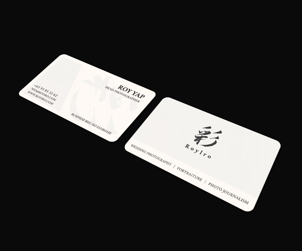 Modern, Elegant, Business Business Card Design for Roy Iro by JK18 ...