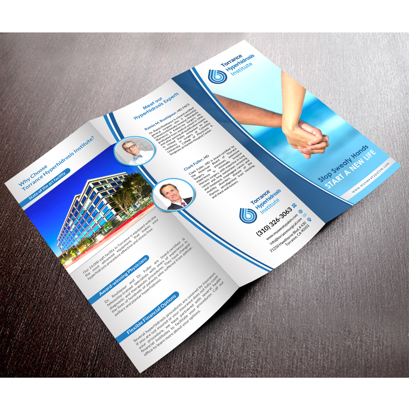 Serious, Professional, Medical Brochure Design for a Company by