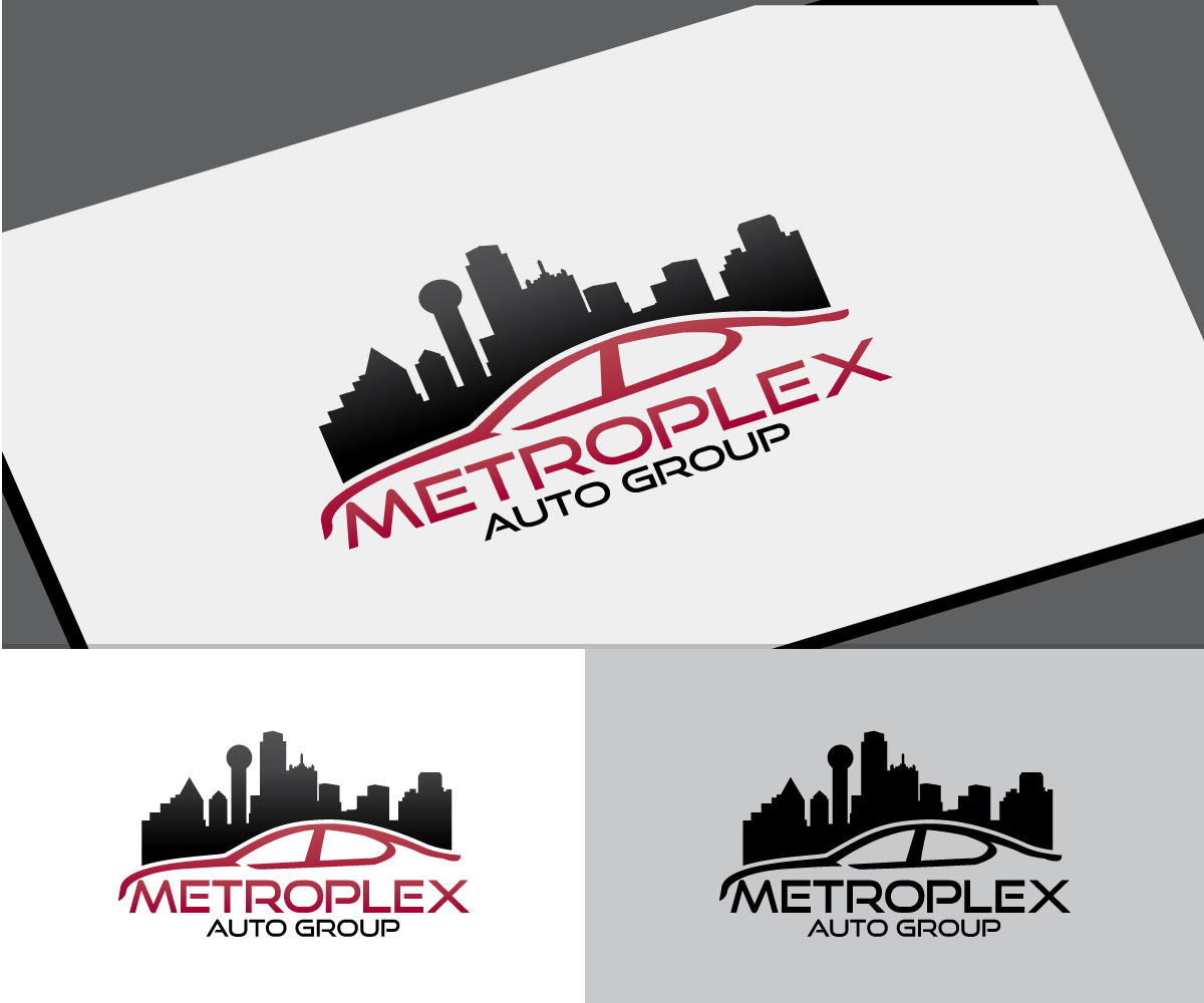 Serious Modern Automotive Logo Design For Metroplex Auto Group By