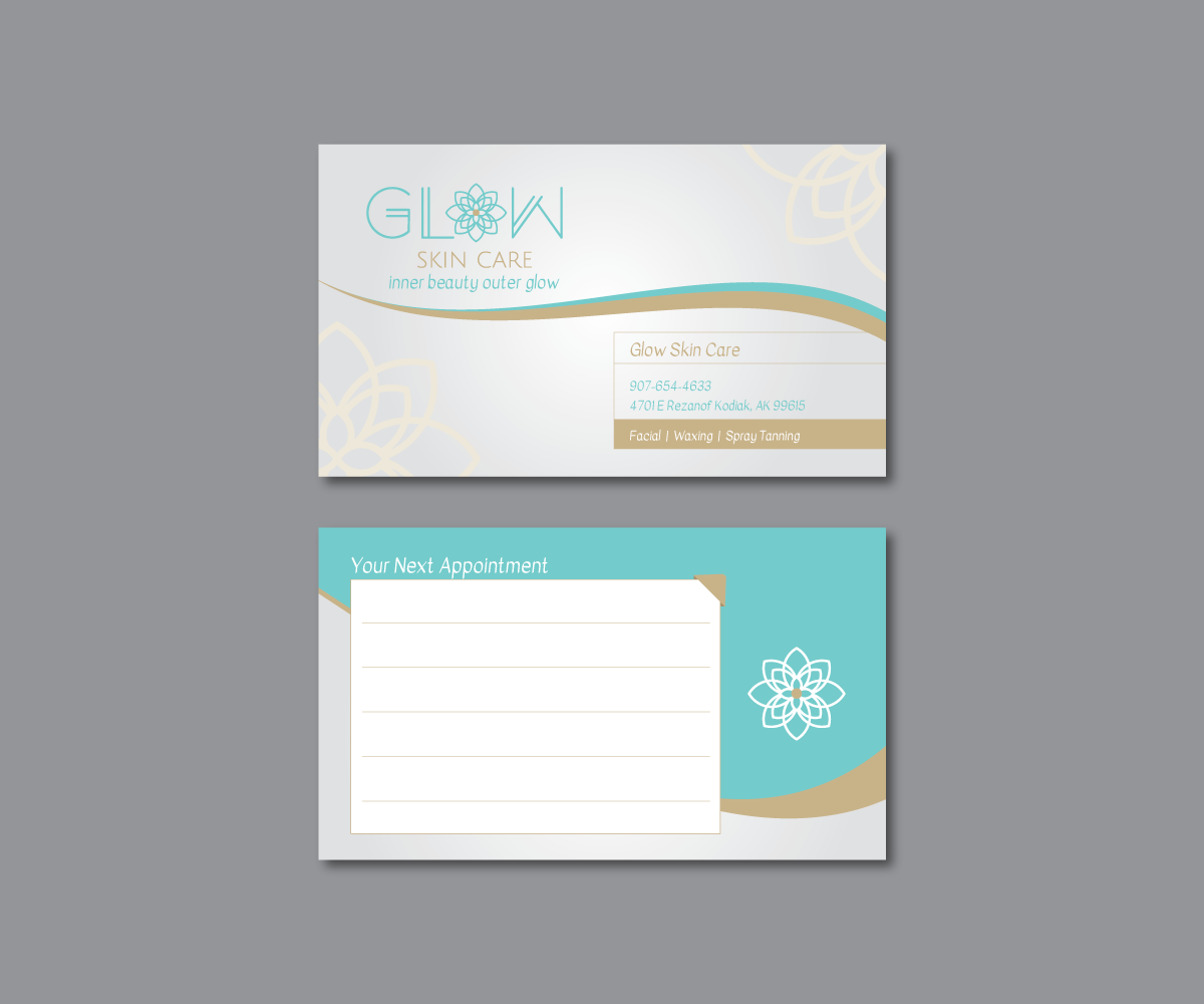 Elegant, Modern, Beauty Salon Business Card Design for a Company by ...