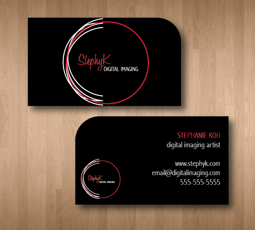Modern upmarket digital business card design for a company by eva business card design by eva wrightsman for this project design 2614043 reheart Choice Image