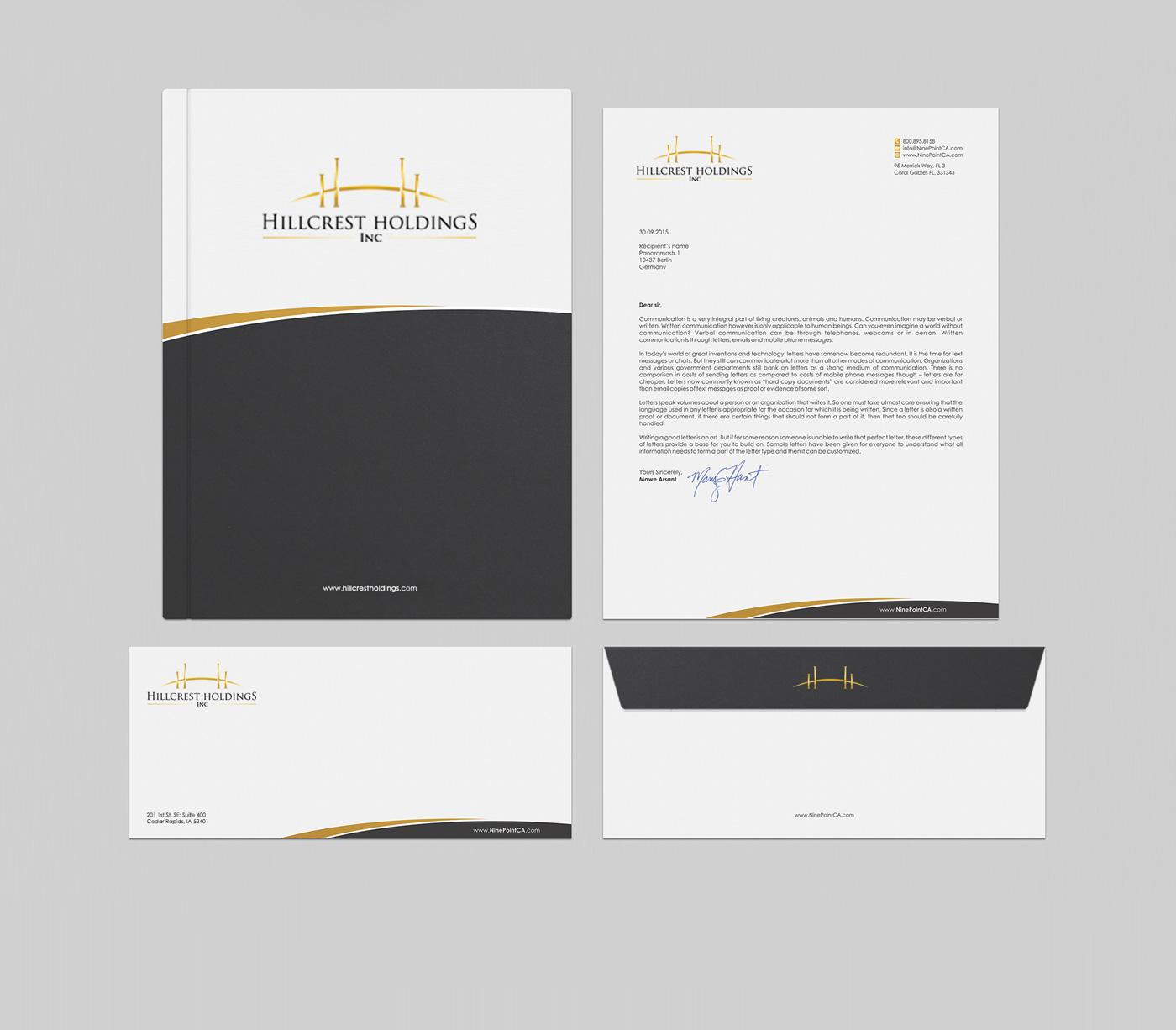 Professional, Upmarket Stationery Design job  Stationery