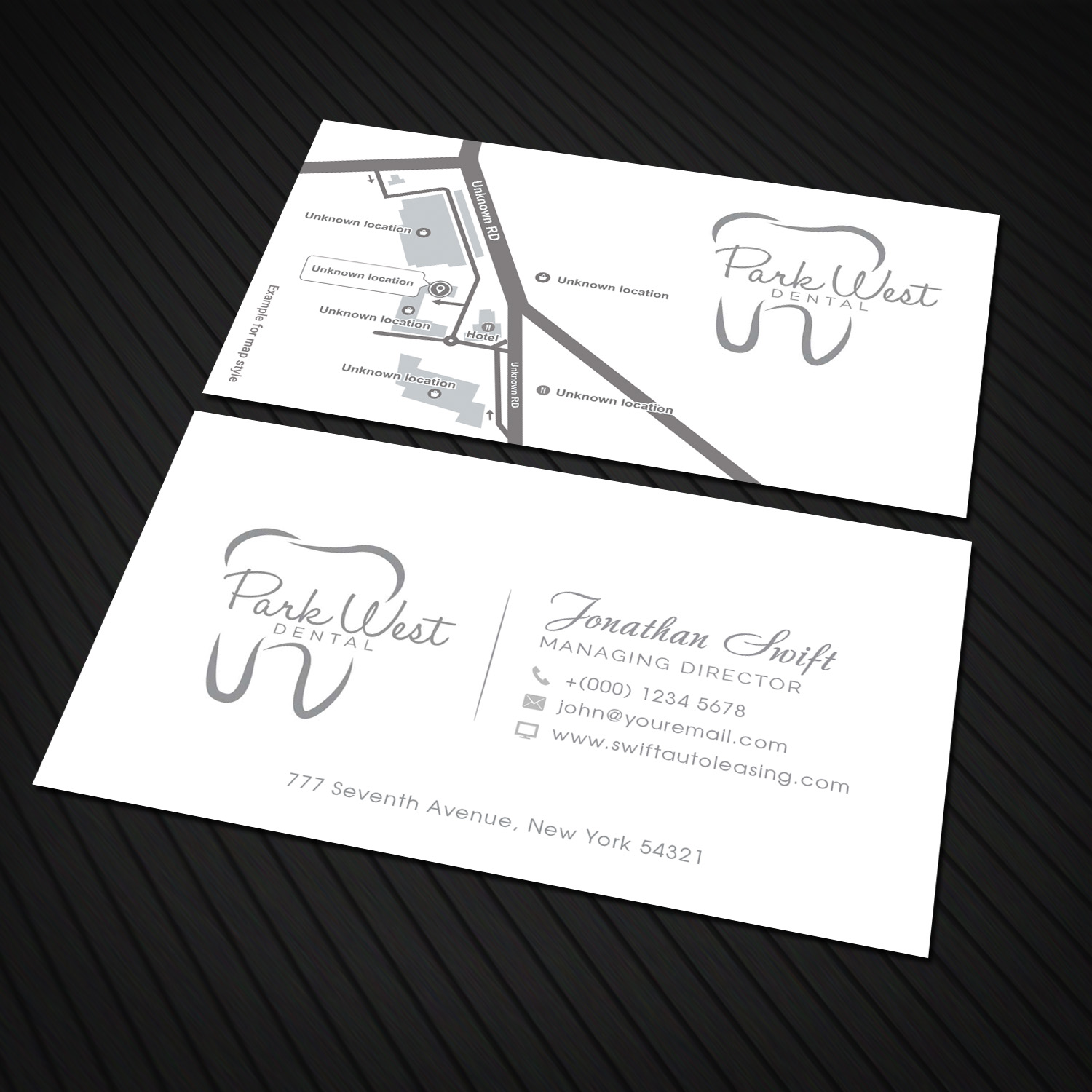 Business business card design for san diego dental studio by business business card design for san diego dental studio in united states design 15419386 reheart Gallery