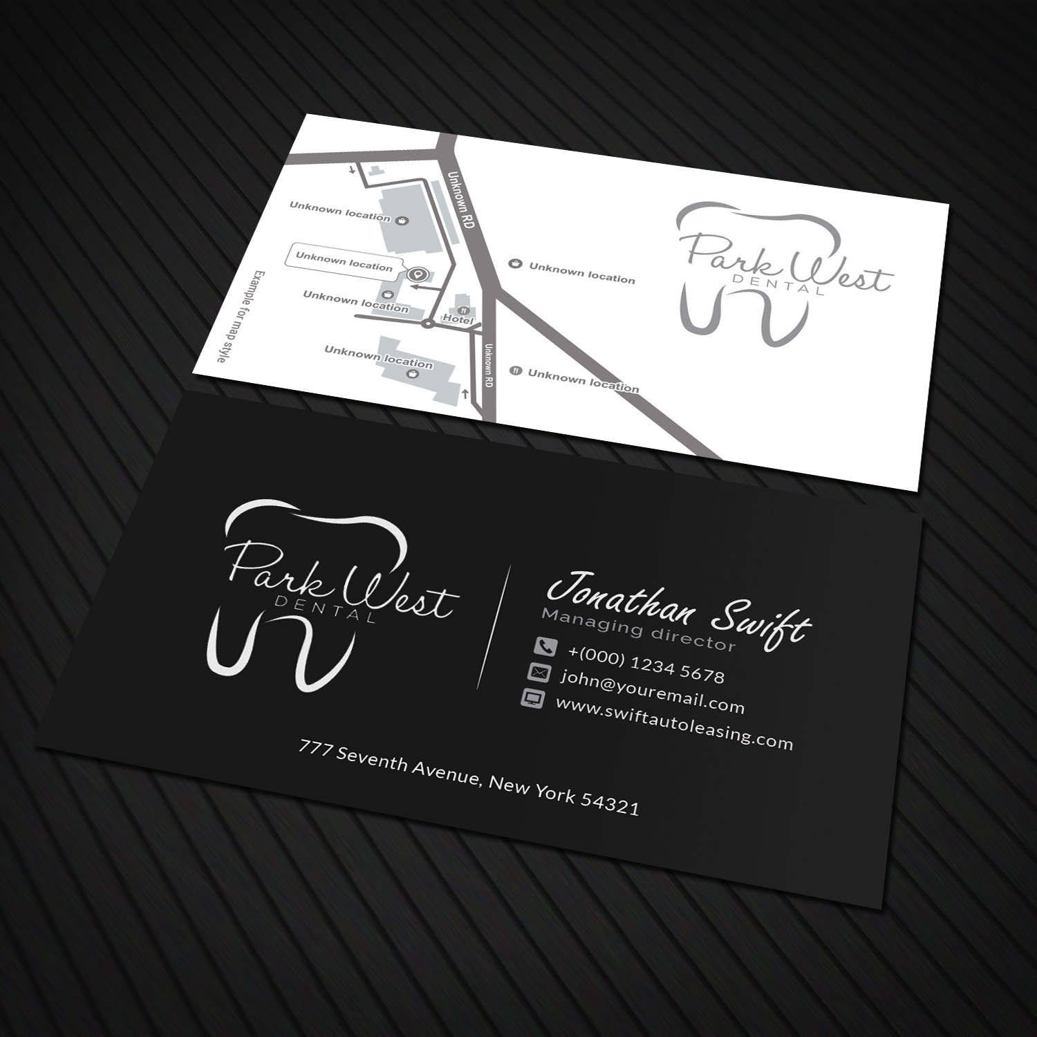 Business business card design for san diego dental studio by business business card design for san diego dental studio in united states design 15419687 reheart Image collections