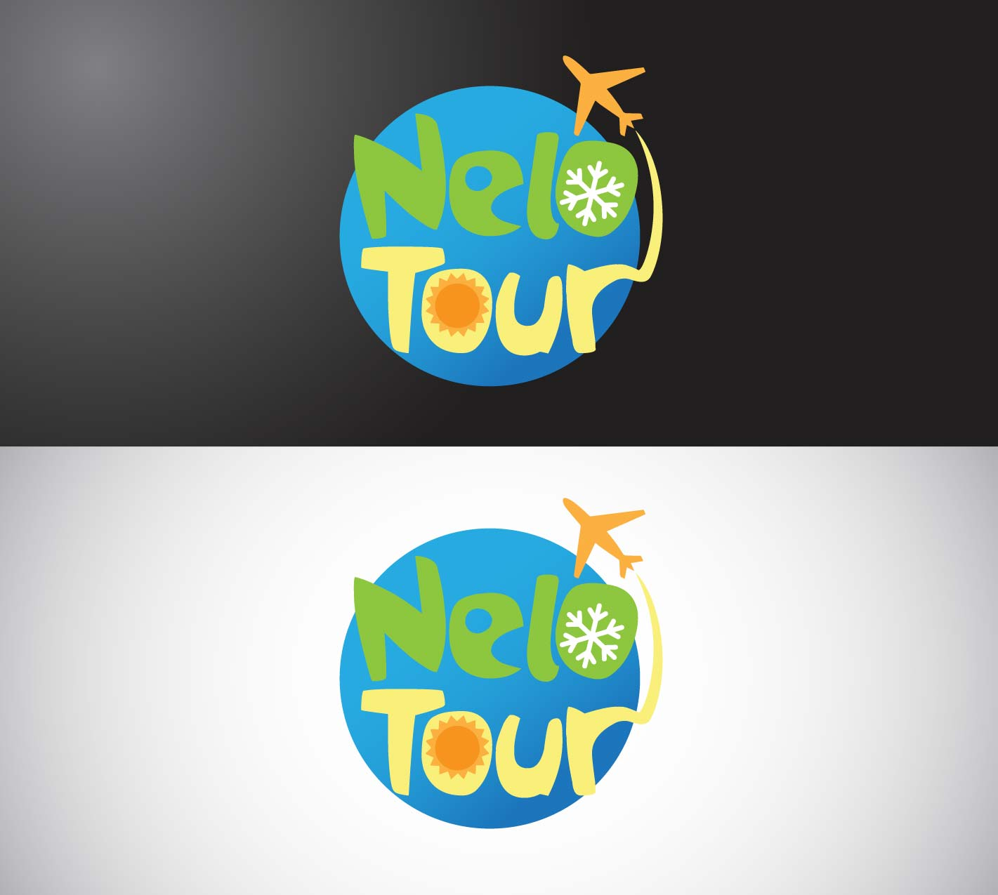Elegant, Traditional, Tourism Logo Design for Nelo Tours by RADZWORX