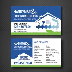 44 elegant playful handyman business card designs for a handyman