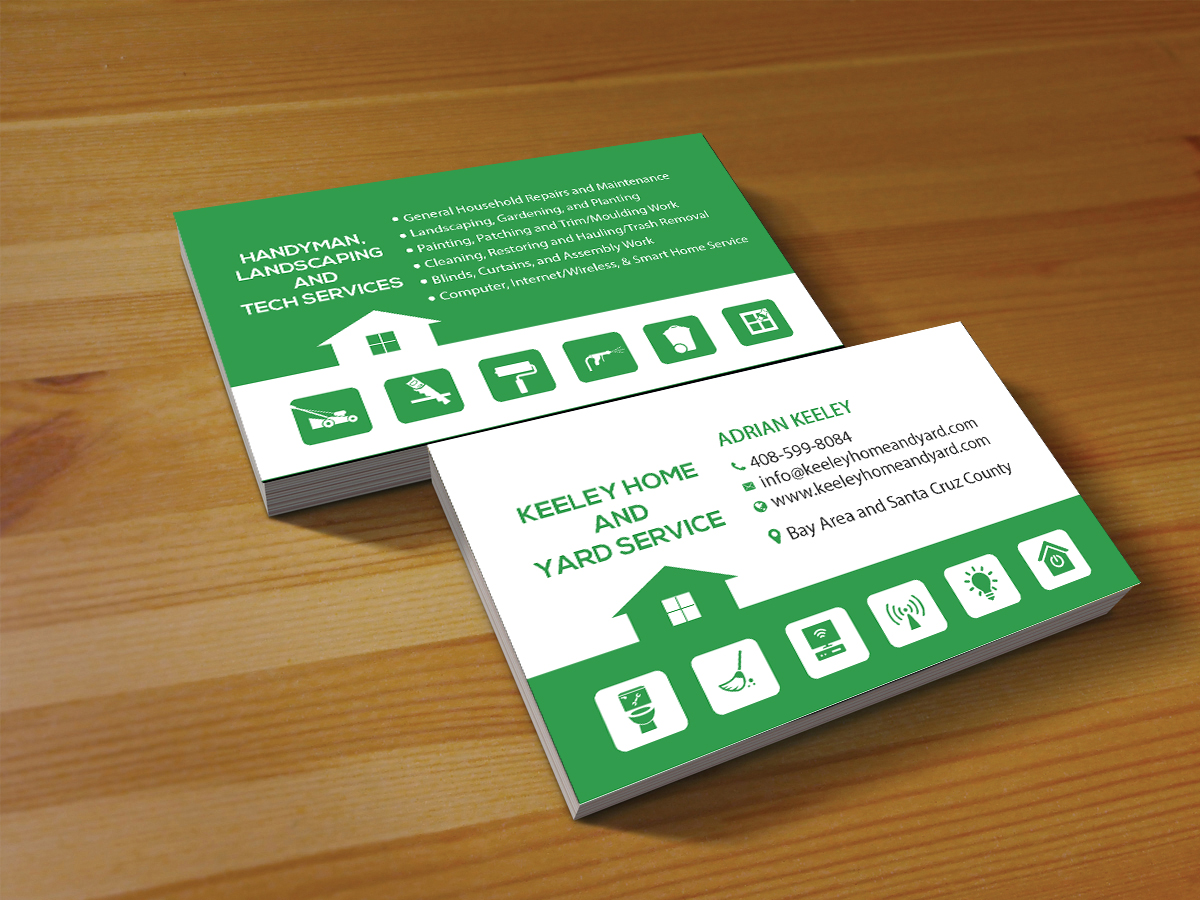 Elegant, Playful, Handyman Business Card Design for a Company by ...
