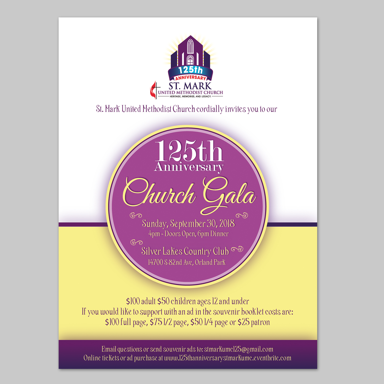 Elegant Traditional Church Invitation