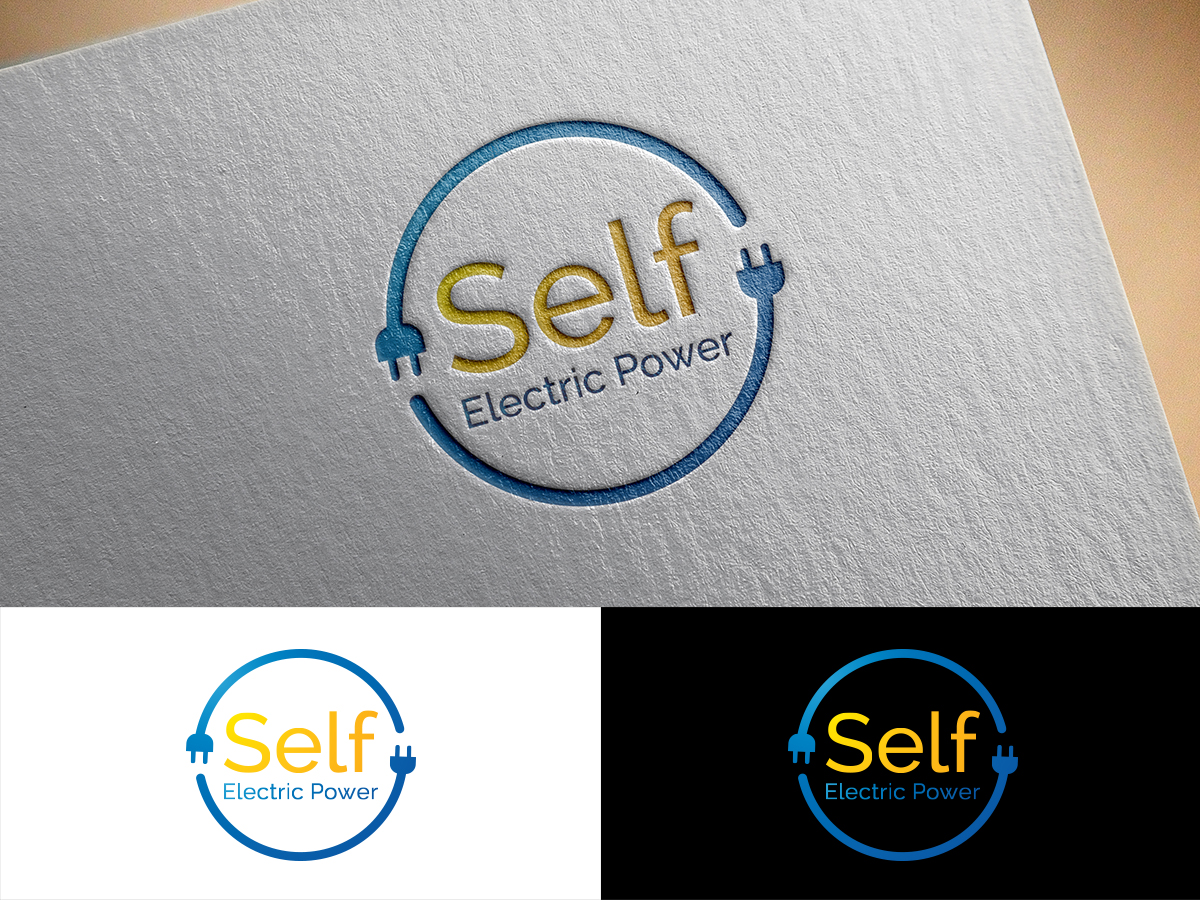 Professional, Serious, Electric Company Logo Design for Self