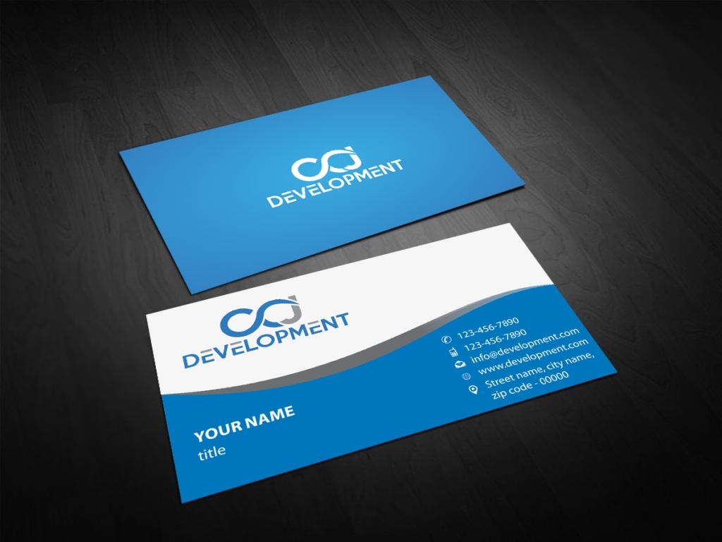 Elegant, Modern, It Company Business Card Design for a Company by ...