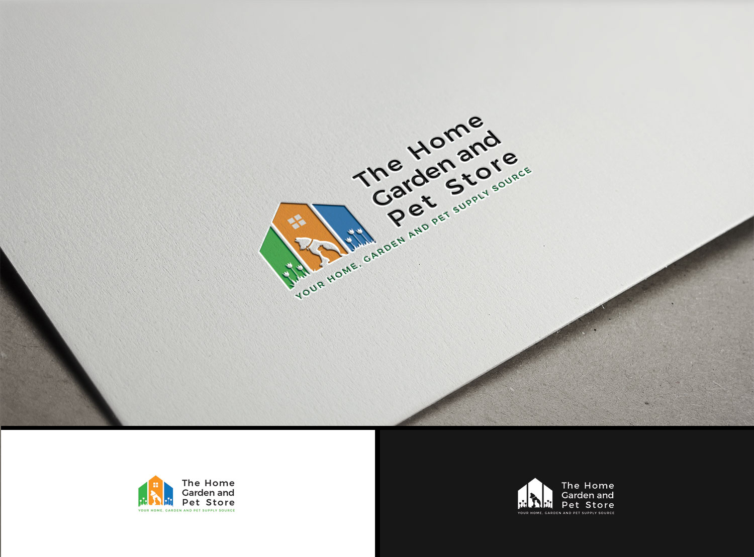 Logo Design By Kejo87 For Modern Website Logo, The Home, Garden And Pet  Store