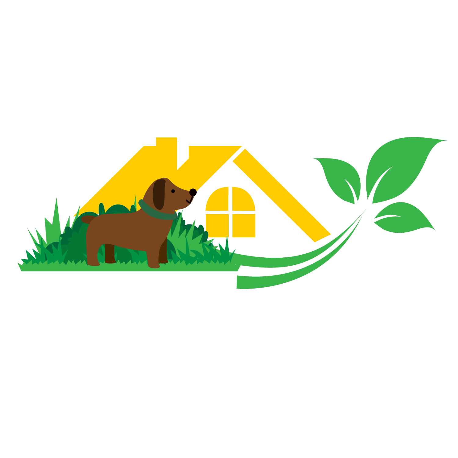Logo Design By Sanjeev Thakur For Modern Website Logo, The Home, Garden And  Pet