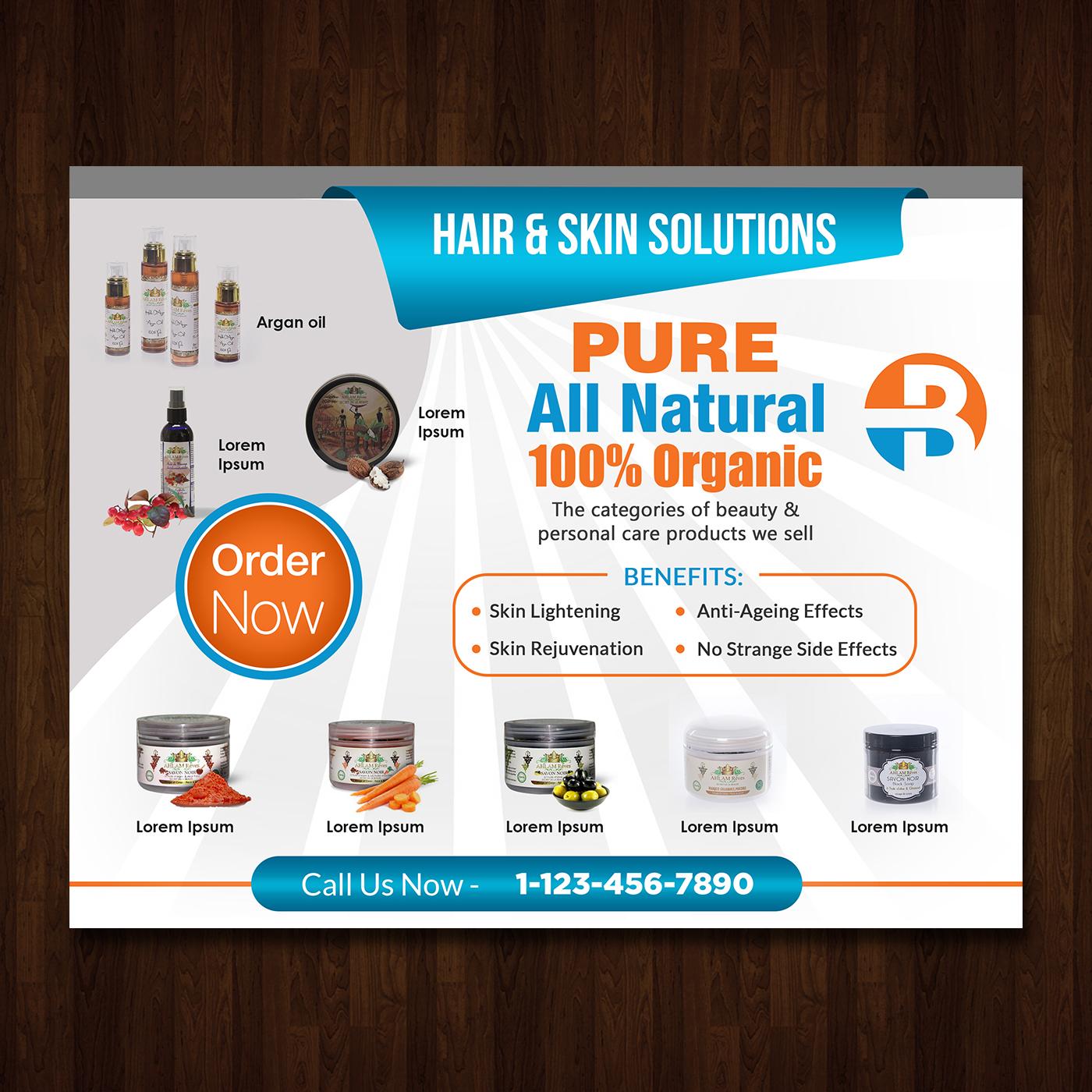 Elegant Feminine Cosmetics Banner Ad Design For A Company By Creative Bugs Design 15536530