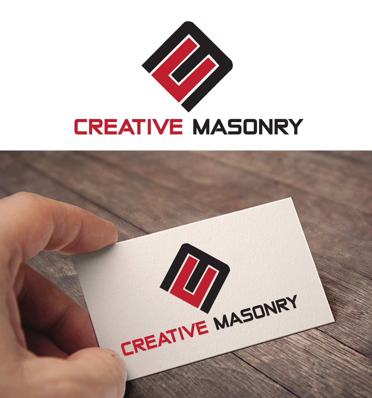 Modern professional masonry logo design for creative masonry by logo design by robin freelancer for creative masonry design 15507953 colourmoves