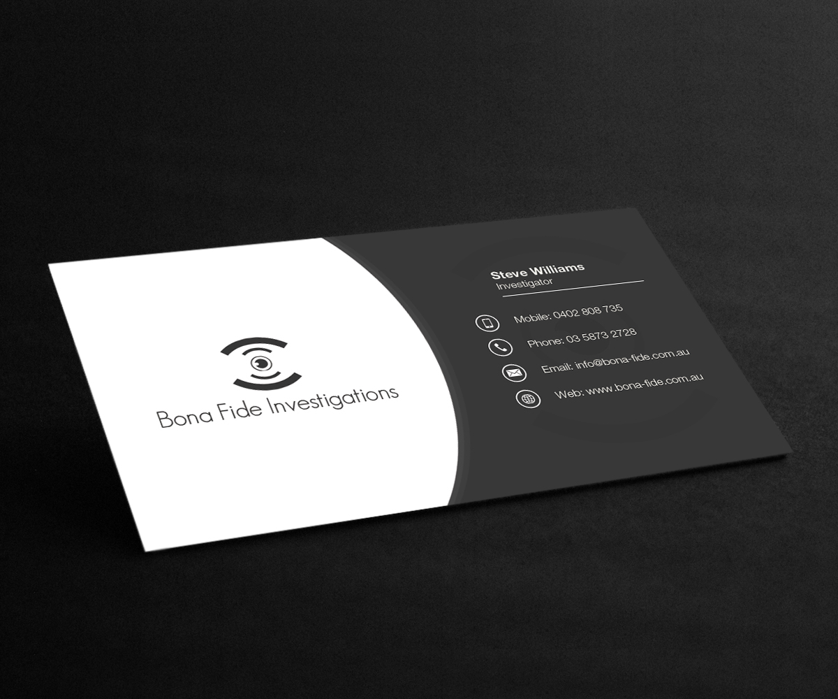Lovely Private Investigator Business Cards Ideas - Business Card ...