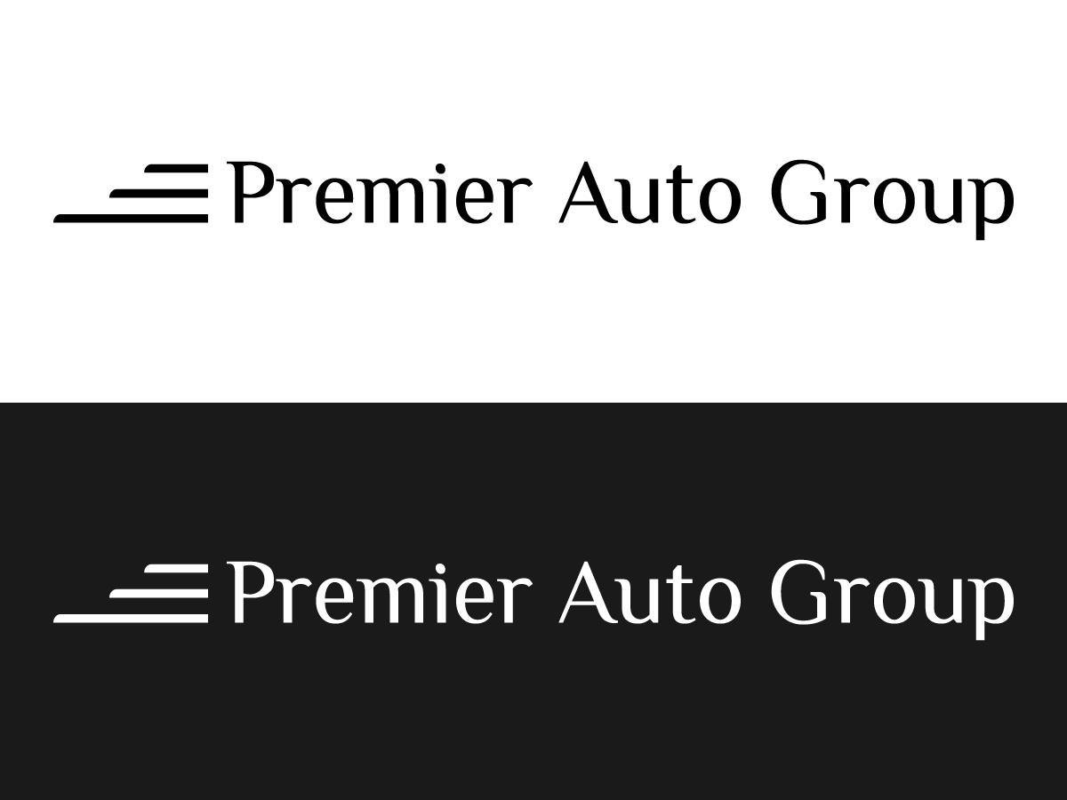 Premier Auto Group >> Conservative Upmarket Used Car Logo Design For Premier Auto Group