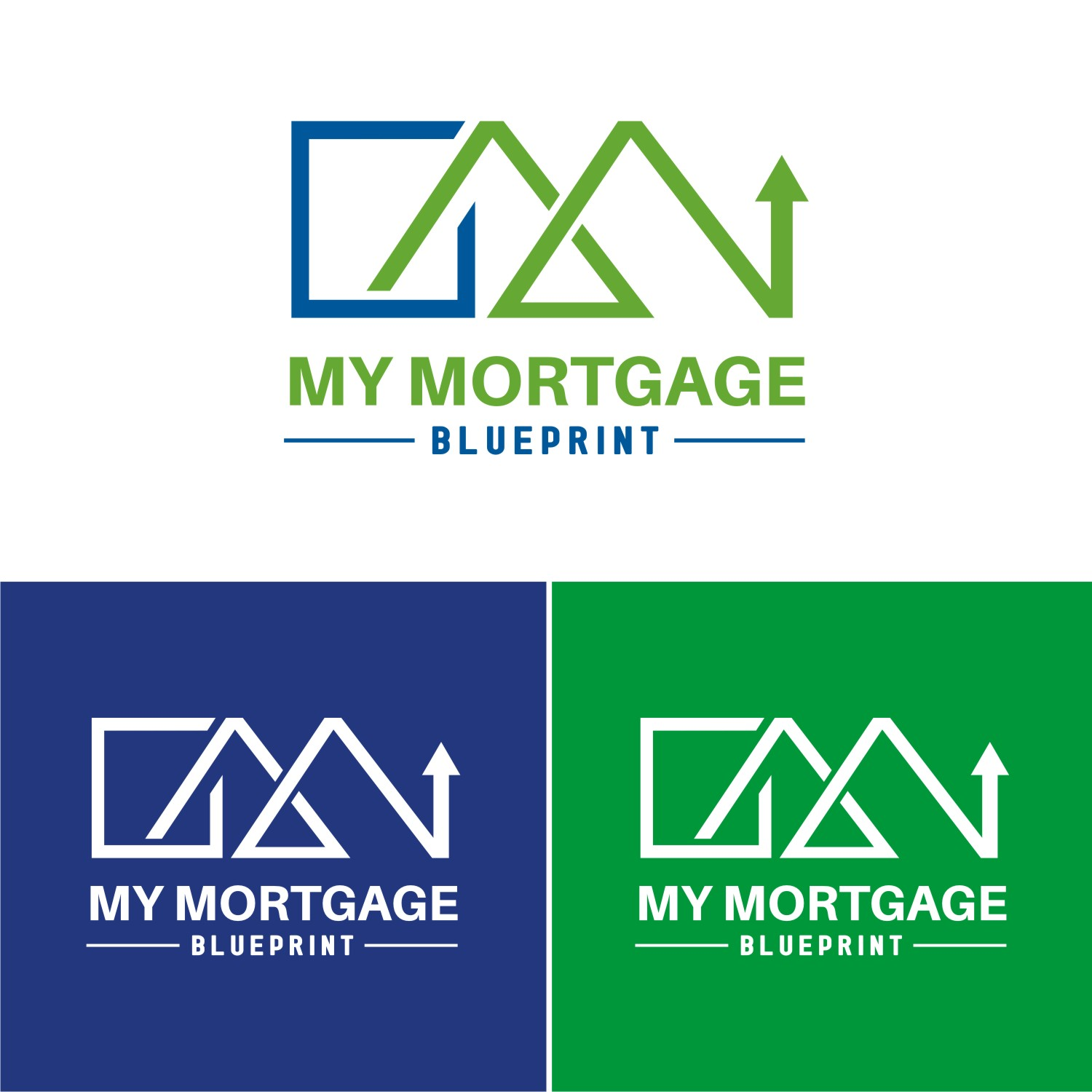 Professional bold logo design for my mortgage blueprint by logo design by ahsacomputer for my mortgage blueprint design 15548301 malvernweather Gallery