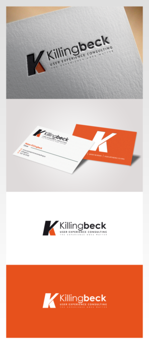 modern upmarket logo and business card design job logo and