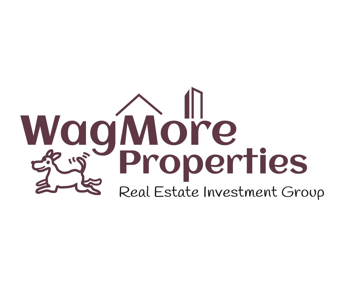 Bold, Playful, Real Estate Logo Design for WagMore