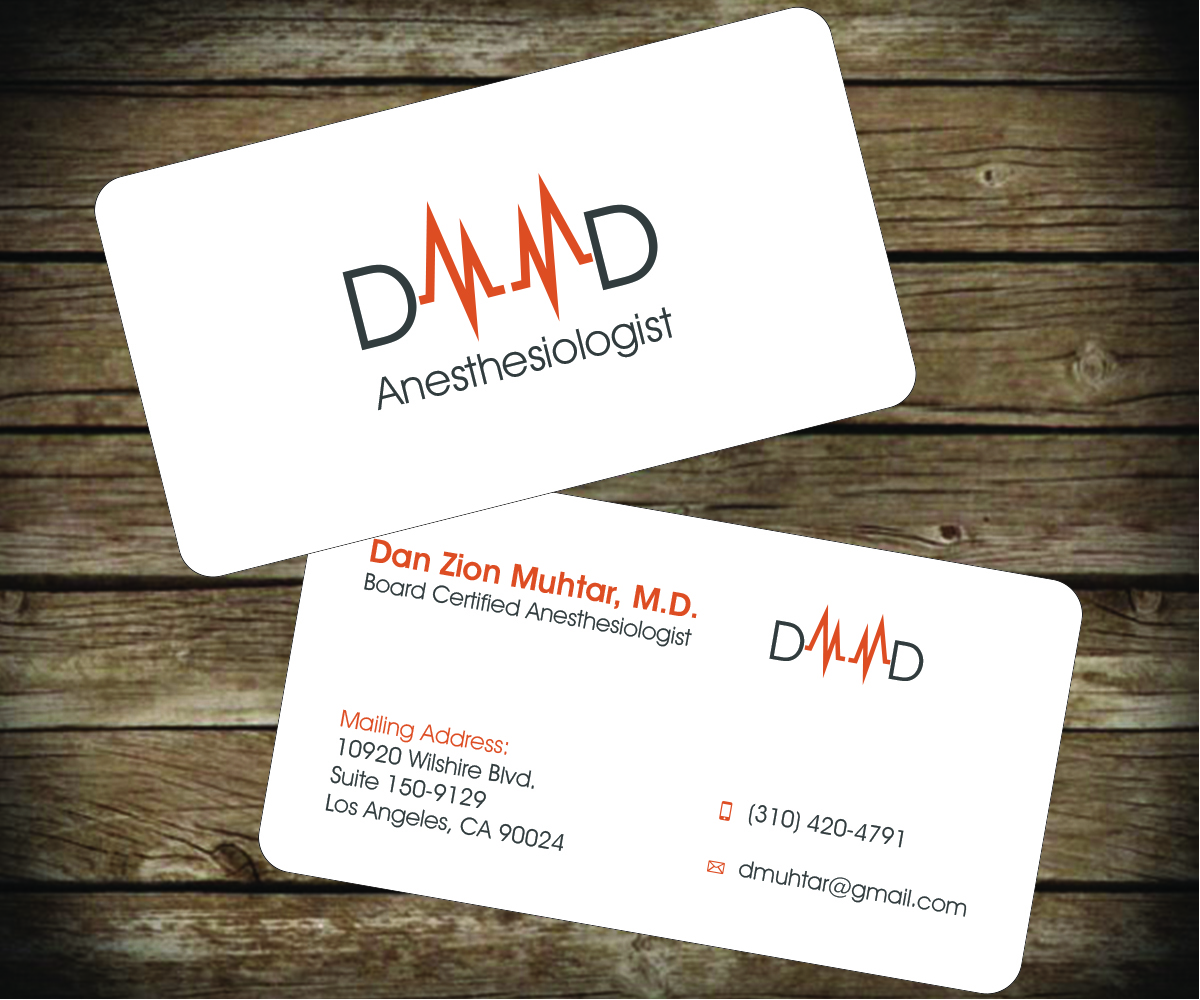 31 masculine business card designs medical business card design business card design by aaron for this project design 2655709 reheart Images