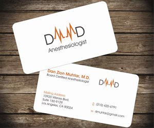 business card design by aaron for this project design 2655709 - Medical Business Cards