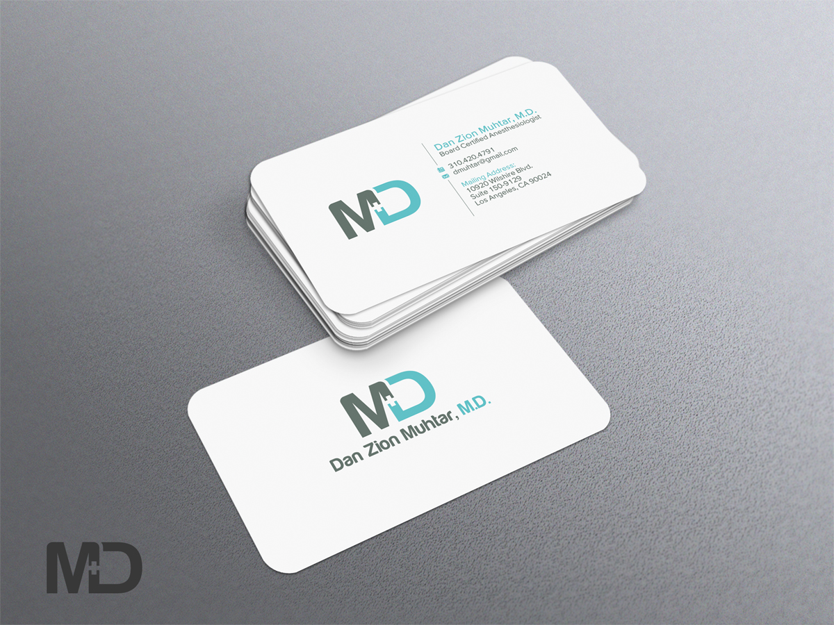 Masculine, Serious, Medical Business Card Design for a Company by ...