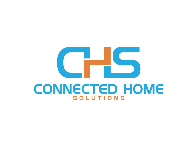 Logo Design By GRD For Connected Home Solutions | Design #15632880