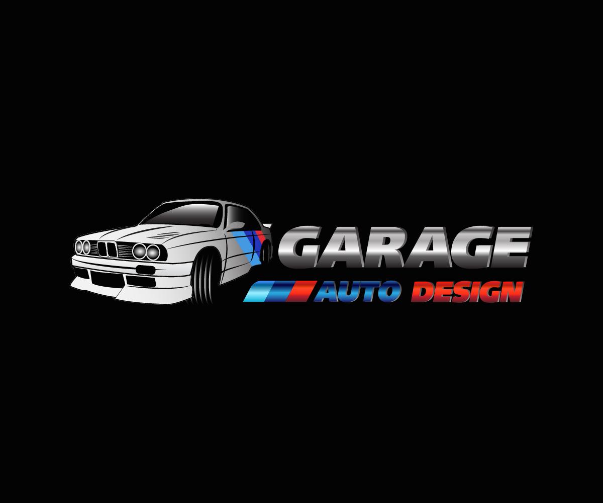 Modern Masculine Logo Design For Garage Auto Design By Athanasia Design 15553786