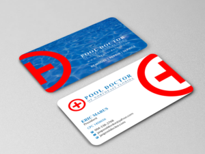 business card design job pool doctor of northeast florida business card winning design by - Doctor Business Card