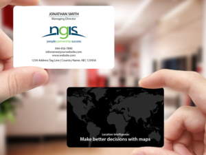 188 modern business card designs consultant business card design business card design by creations box 2015 for ngis australia design 15570638 reheart Image collections
