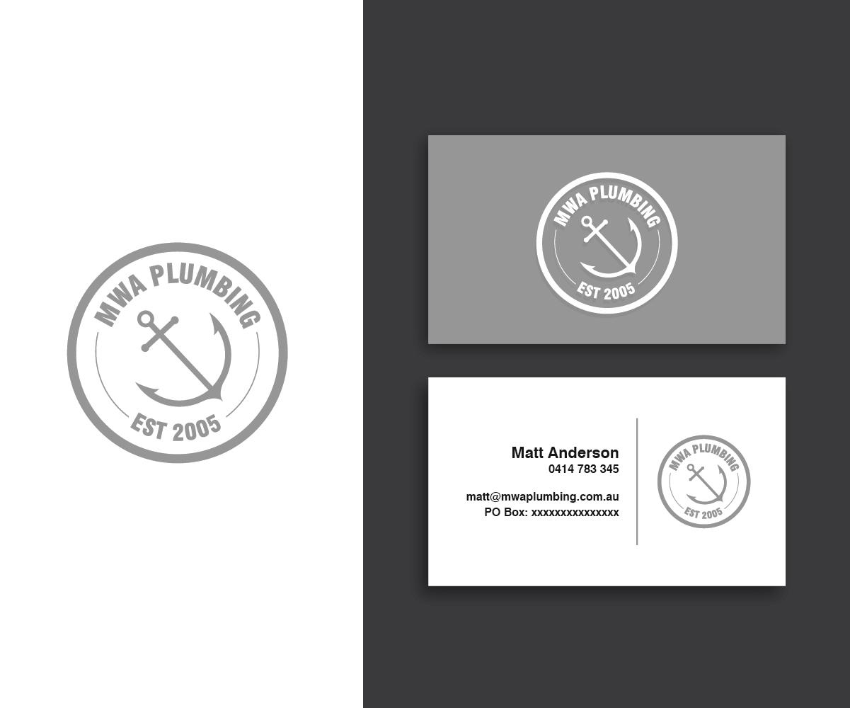 Playful, Bold Logo Design for MWA Plumbing by Designpool | Design ...