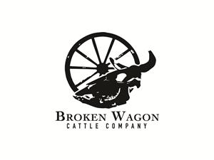 Broken logo designs 166 broken logos to browse broken wagon cattle company logo design by auroralexdesigns thecheapjerseys Gallery