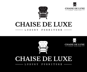62 professional logo designs for chaise de luxe (luxury furniture ... - Chaise De Luxe Design