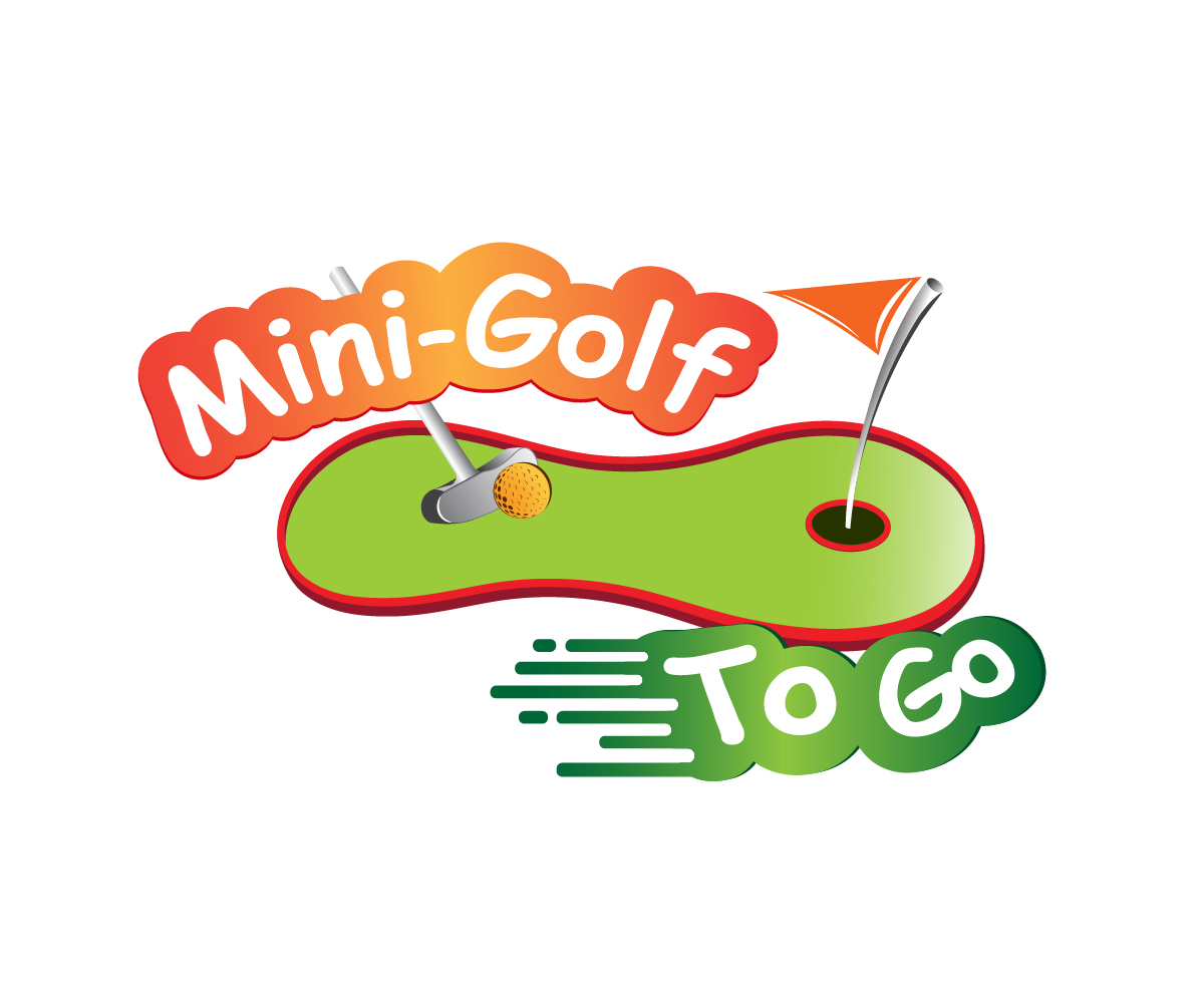 Playful Colorful Entertainment Logo Design For Mini Golf To Go By Pfdesign81 Design 15778718