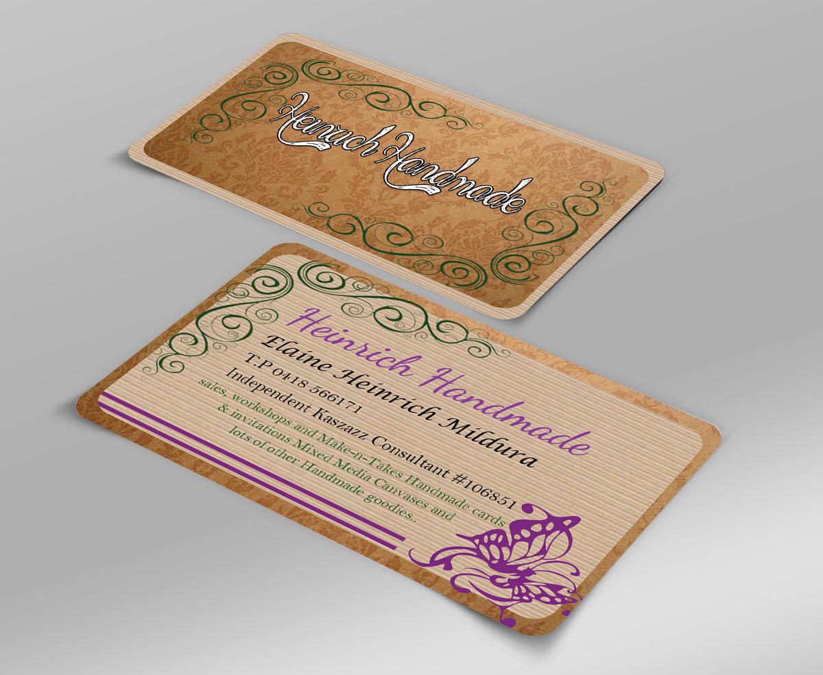 Upmarket, Conservative, Business Business Card Design for Heinrich ...