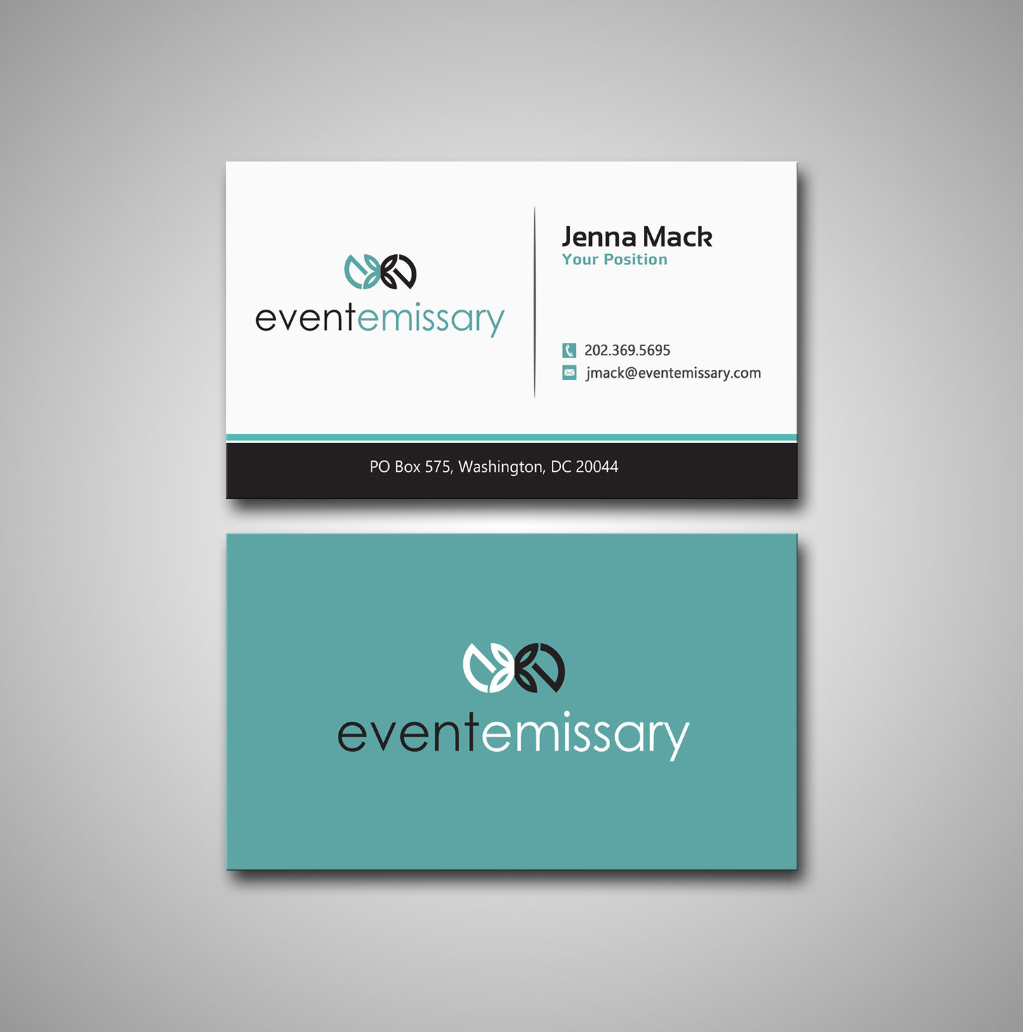Professional, Upmarket, Event Planning Business Card Design for a ...