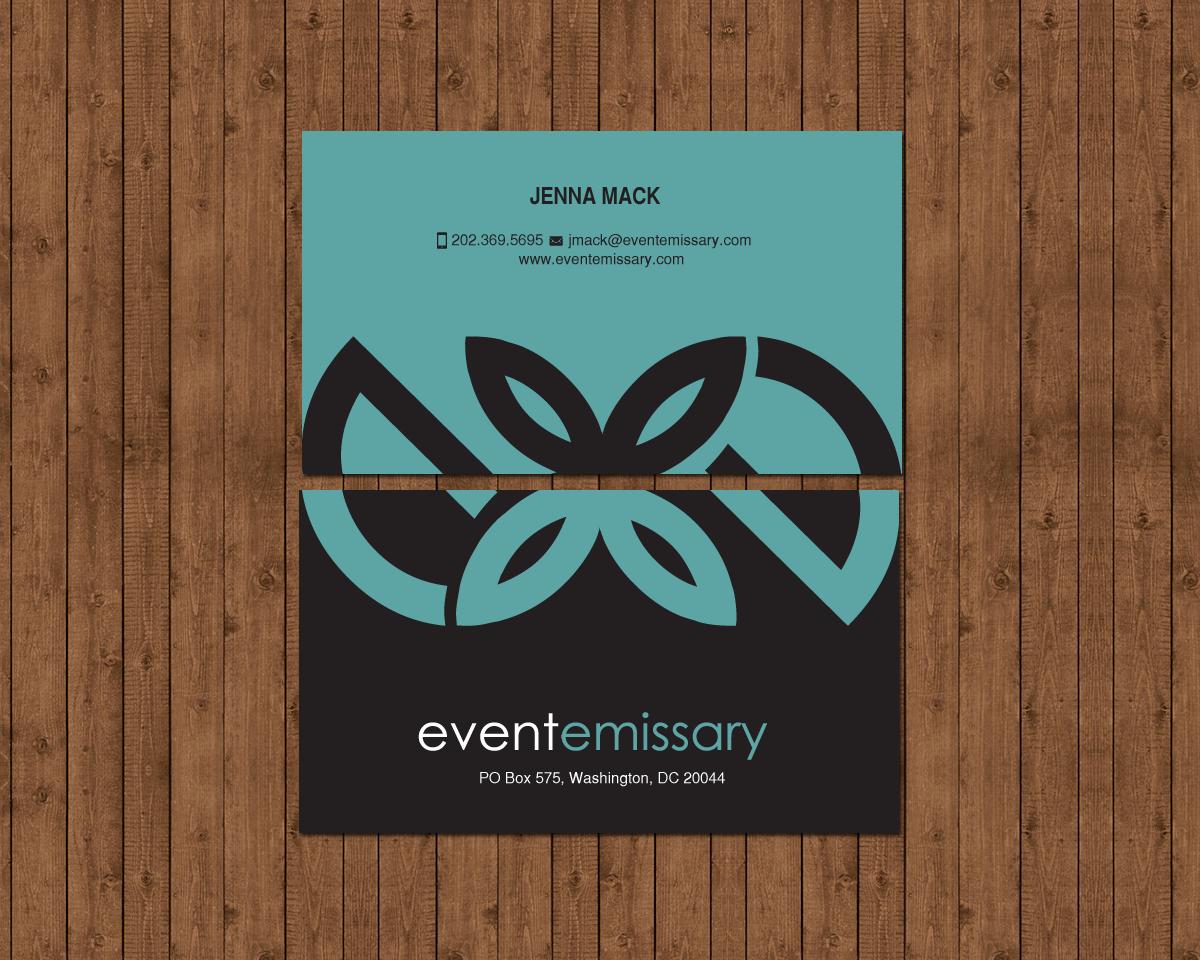 Professional, Upmarket, Event Planning Business Card Design for a ...
