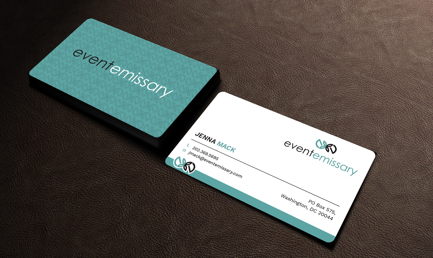 Professional, Upmarket Business Card Design for Jenna by Graphic ...