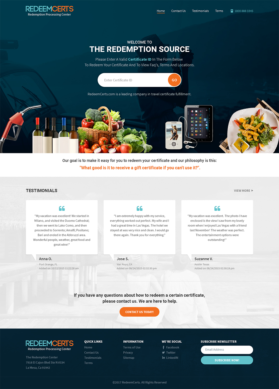 Modern, Professional, It Professional Web Design for www