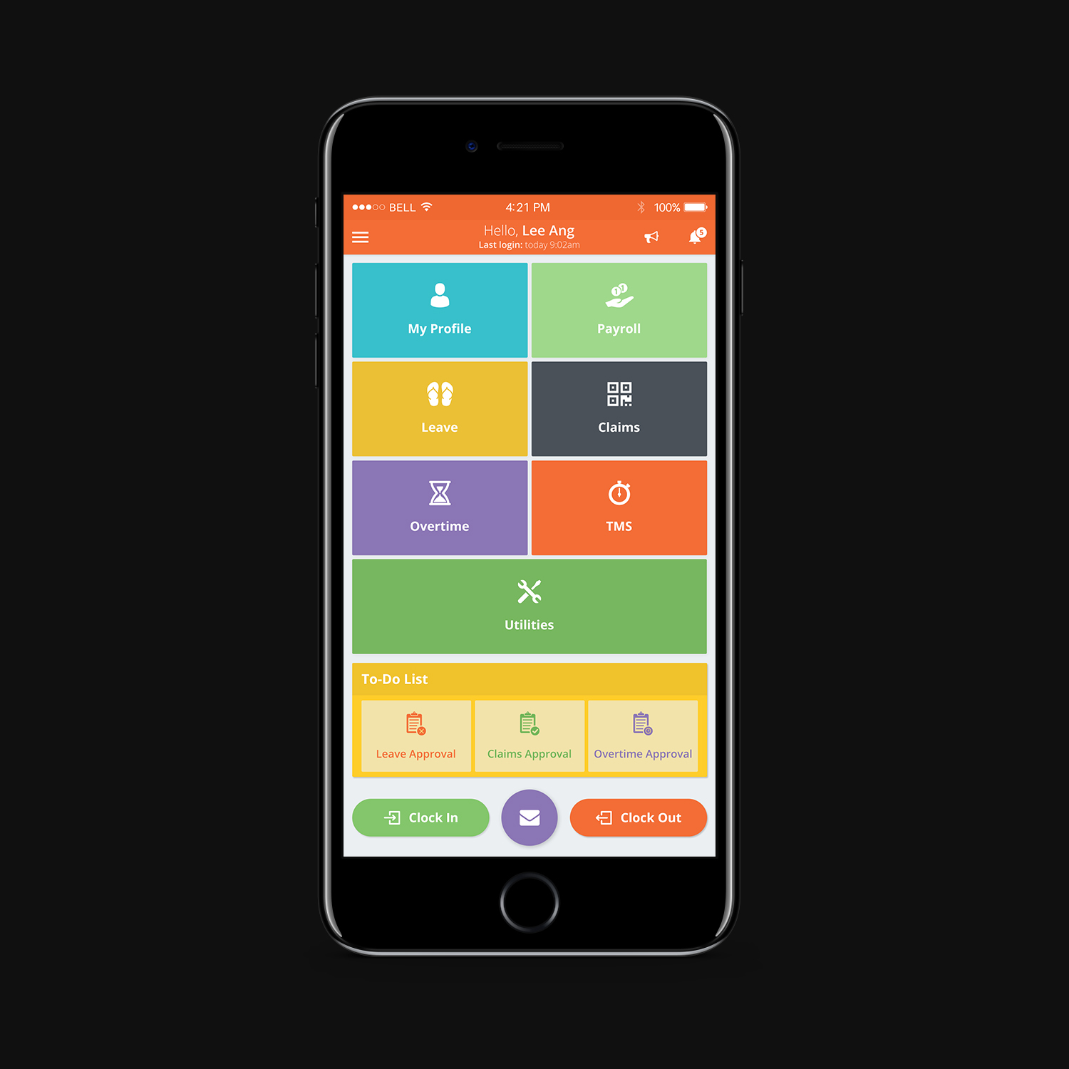 Mobile App Home Screen Redesign: Bold, Traditional App Design For A Company By Manarpan189