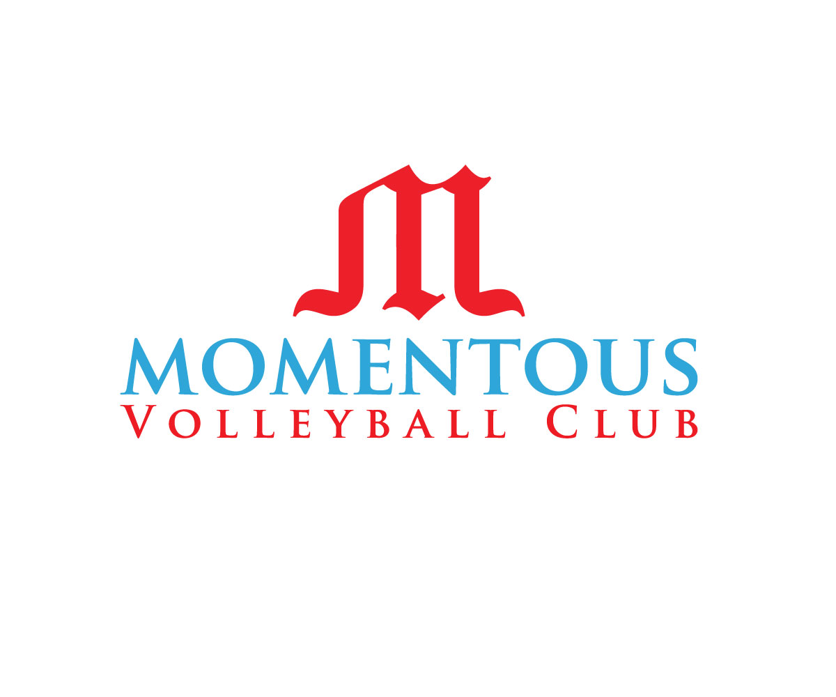 Modern, Personable, Club Logo Design for Momentous Volleyball Club