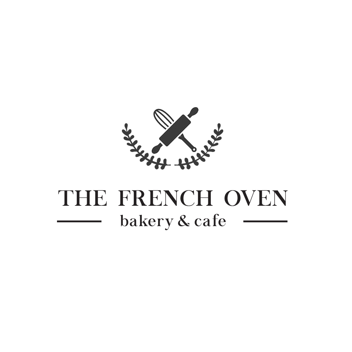 Upmarket Serious French Restaurant Logo Design For The French Oven Bakery And Cafe By Farah Q Design 15639463