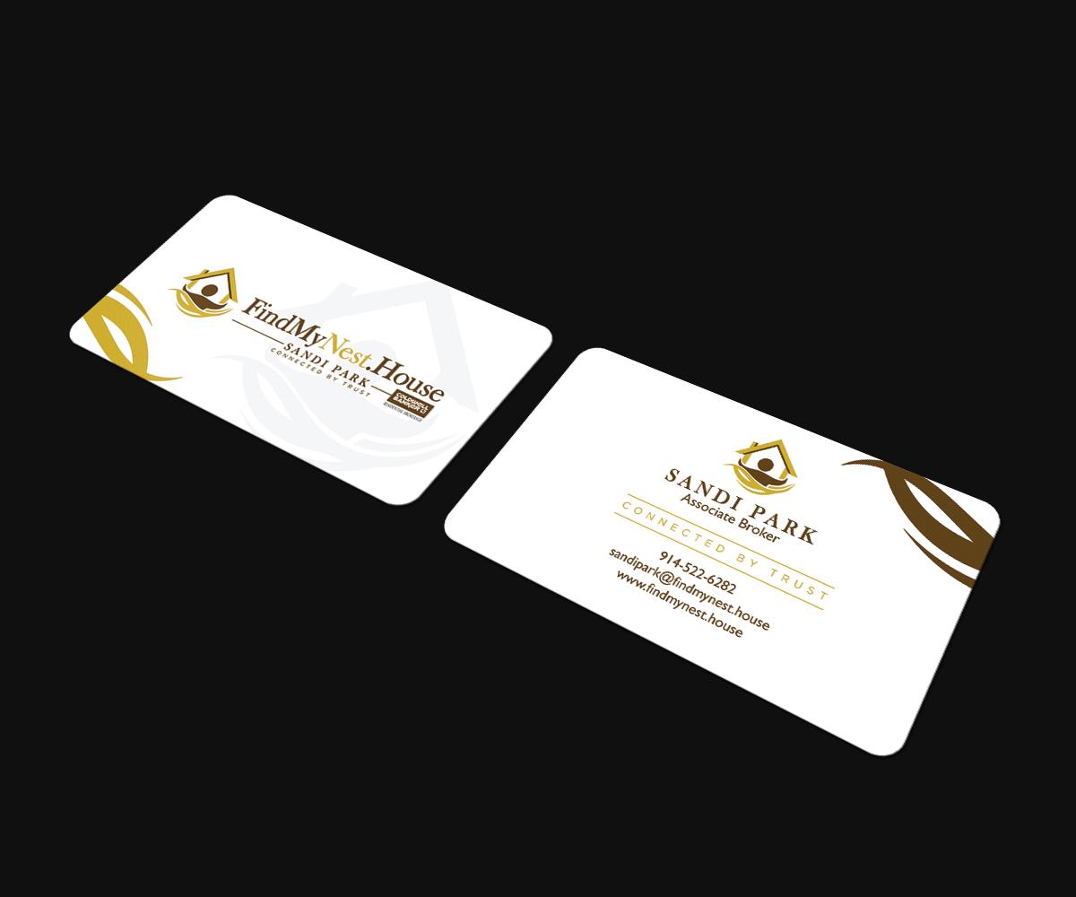 264 Upmarket Business Card Designs | Real Estate Agent Business ...