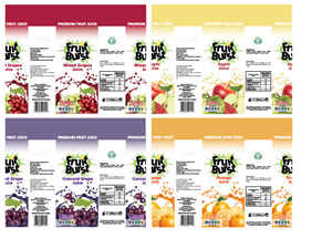 Graphic Design by Daniel Lopez Denham - Package Design for New Fruit Juice product - FR...