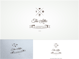 Logo Design by Angelina - cafe/restaurant and entertainment business need...