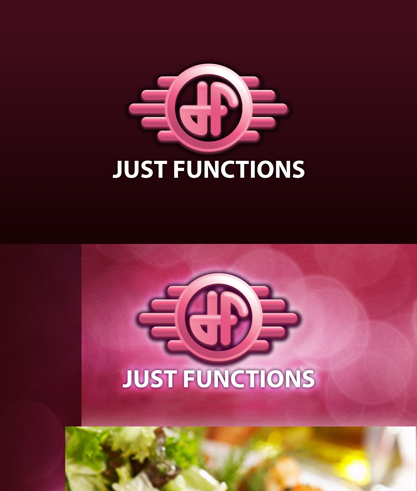 Logo Design by Elisha Leo for Just Functions - Design #38316