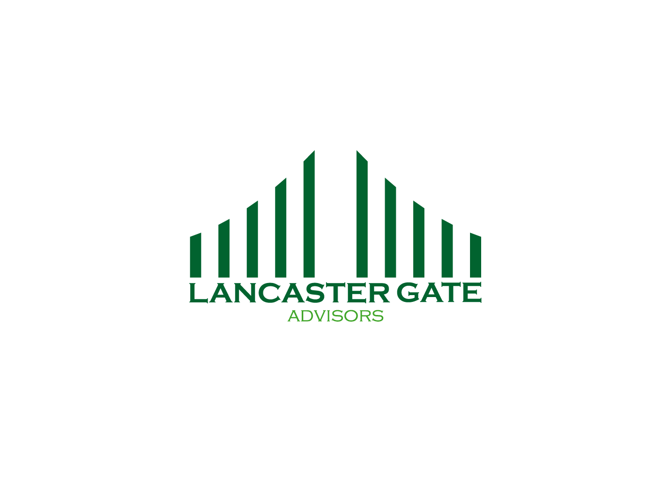 logo design for lancaster gate advisors by jika design
